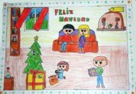 Tarjeta Navidad CBC primaria-2014