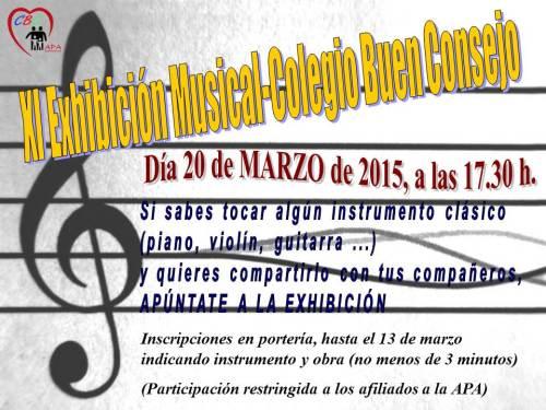 Exhibicion musical 2015