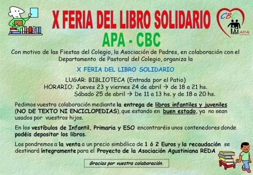 CARTEL X FERIA DEL LIBRO 2015
