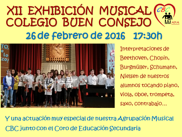 Cartel Exhibicion musical 2016 recordatorio